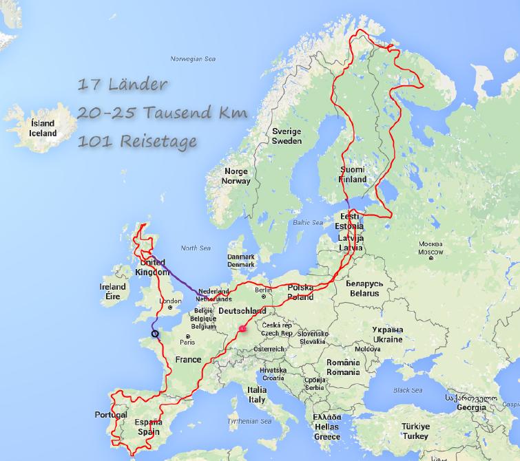 RuN - Route